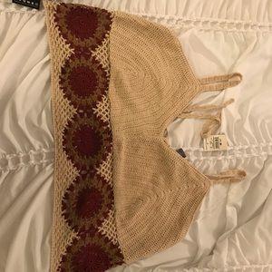 Knit Crop Trop